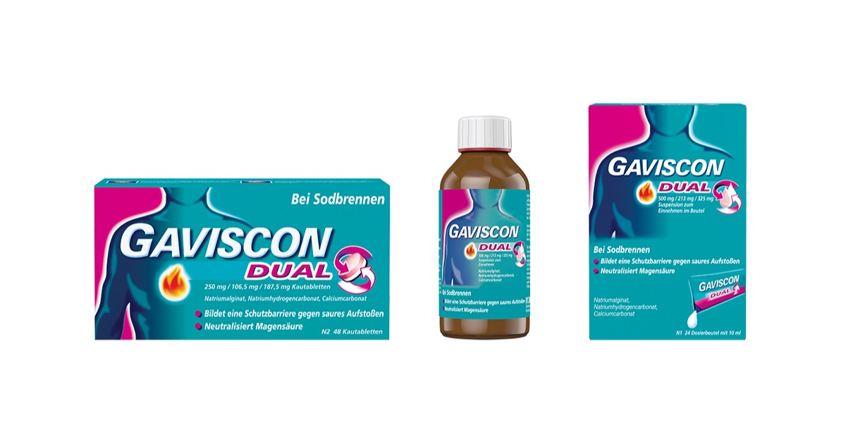 Gaviscon Produkte Reizdarm
